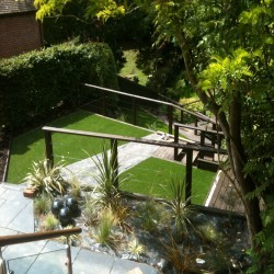 Synthetic Garden Grass Costs in Alveston Hill 2