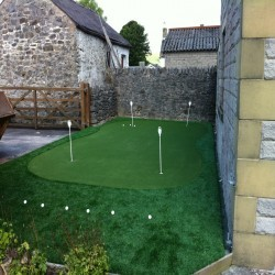 Artificial Grass Playground in Wrexham 9