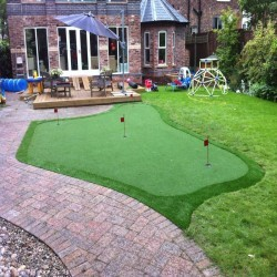 Artificial Grass Installation in Abbey Hey 12