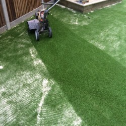 Nursery Synthetic Grass Play Area in Brake 11