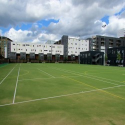 Synthetic All Weather Pitch in Alder Row 10