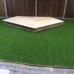 Fake Garden Grass in Bridgend 10