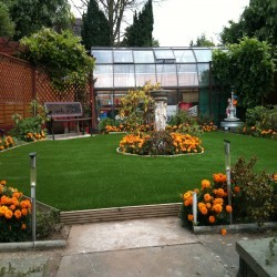 Artificial Grass Installation in Abbey Hey 9