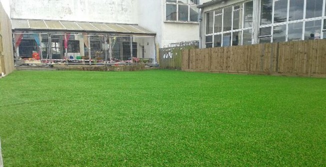 Artificial Grass Preparation Costs in Abbess Roding