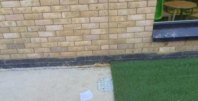 Costs for Artificial Grass in Castle Camps