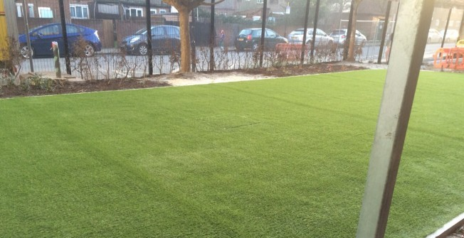 Artificial Grass Costs in Knighton