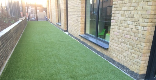 Artificial Grass Surfaces in Newtown