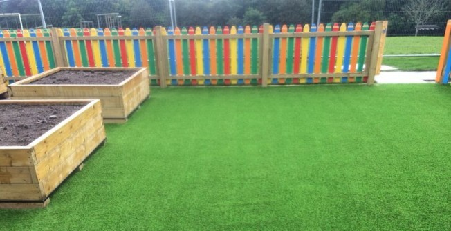 Artificial Grass Installation Costs in Aberllefenni