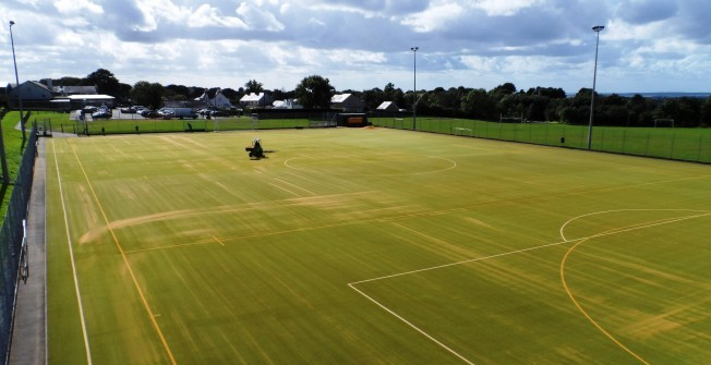Costs of Artificial Sports Turf in Daw's Green