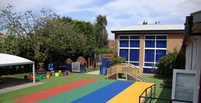 Nursery Synthetic Grass in Ablington