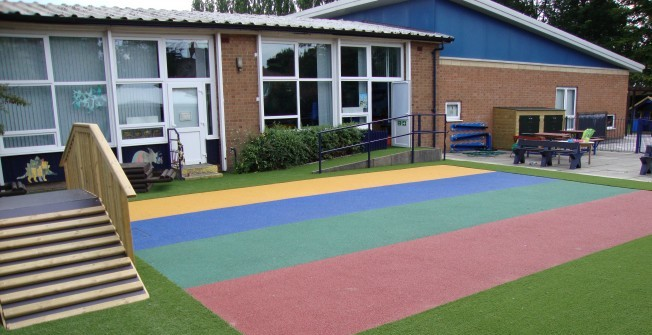 Fake Turf for Nurseries in Brake