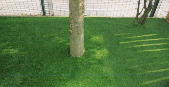 Astroturf Garden Costs in Naunton