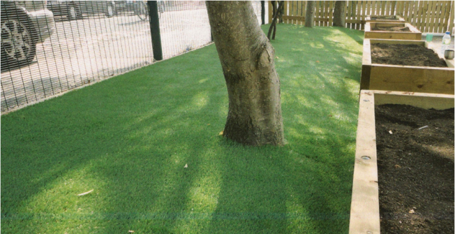 Costs for Synthetic Lawn in Almshouse Green