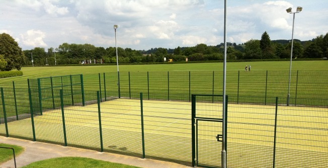Artificial All Weather Pitch in Alder Row