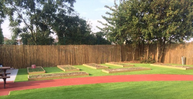 Synthetic Grass for Nurseries  in Annwell Place